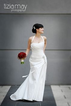 KAREN WILLIS HOLMES - Real Bride Angela in the 'Rebecca' gown  Photography by Tizia May Photography