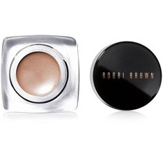 Bobbi Brown Long-Wear Cream Shadow found on Polyvore featuring beauty products, makeup, eye makeup, eyeshadow, make, nude beach, creamy eyeshadow and bobbi brown cosmetics