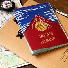 ¥735/パスポートケース カバー アカフジ [HD1071]【楽天市場】