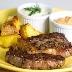 Receita de Bife Ancho com Batatas – Chef Henrique Fogaça