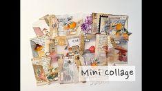 Mini collage , 미니 콜라쥬 Handmade Greetings, Quilling Art, Handmade Shop, Paper Art, Workshop, Collage, Crafts, Basteln, Papercraft