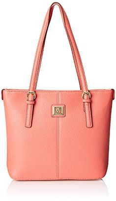 Anne Klein Perfect Tote Small Shoulder Bag, Coral Crush, One Size Anne Klein http://www.amazon.com/dp/B00TFV4COU/ref=cm_sw_r_pi_dp_2BCjvb11BREVN