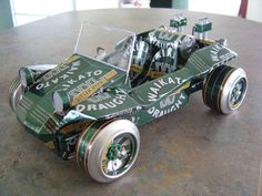 25 Awesome Things Made From Beer Cans - Gallery#