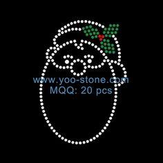 new design hotfix motif rhinestone merry christmas iron on transfer merry christmas rhinestone transfers pinterest merry