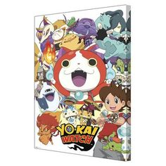 Pyramid America 'Yo-kai Watch - Cast' Graphic Art on Wrapped Canvas