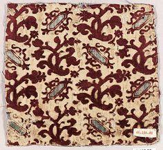 Textiles/Velvets ~ Italian ~ silk ~ late century ~ Metropolitan Museum of Art