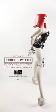 Mechanical Japan: THE WORLD OF ISOBELLE PASCHA - ANASTASIA BAMBI WORTHINGTON LTD GALAMILK 1/3 (3A)