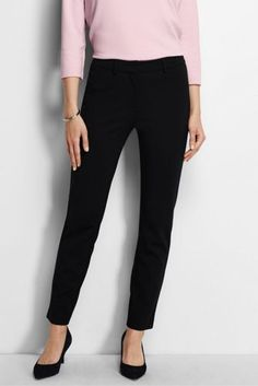 Potential Pant for Cheryl ? - Women's Ponte Ankle Pants from Lands' End