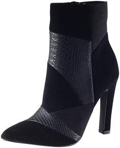 83ad5ec49c0c Delicious Women s Yvette Patchwork Animal Print Pointed Toe Boot Animals