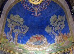 Garden of Gethsemane - Church of the Agony - Jesus in the Garden of Gethsemane