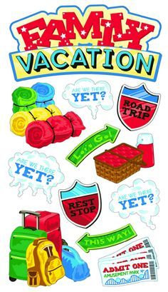 17 Best Vacation Stickers Images On Pinterest