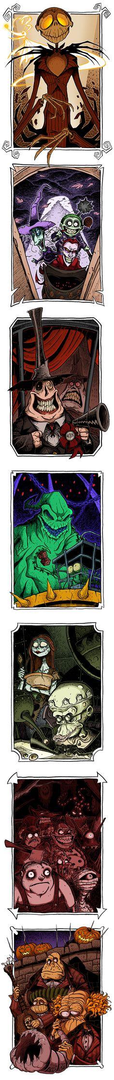Halloween Town series by boredman @deviantart
