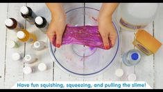Kids LOVE this Glittery Clear Glue Slime!  Only 4 ingredients, quick to make, with no borax. Add beads, sequins and rice for expanded sensory play!  Get ready to have FUN & get your kit NOW! ✨