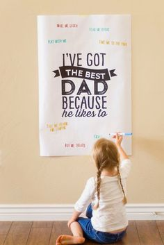 All Kinds of Things: 10 Creative Ideas for Father's Day