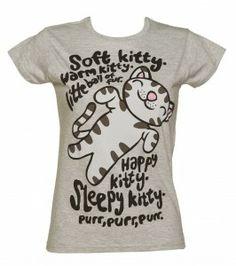 Big Bang Theory Kitty T Shirt Ladies