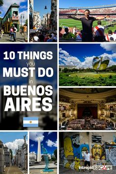 10 things you Must Do in Buenos Aires, Argentina Brazil Argentina, Argentina Culture, Visit Argentina, Argentina Travel, Rio Brazil, Backpacking South America, South America Travel, Ushuaia, Recoleta Cemetery