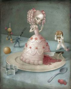 Alice in Wonderland by Nicoletta Ceccoli