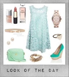 """Look Of The Day #03"" by jyoti-shridhar on Polyvore"