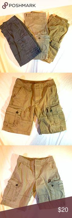 Coral Khaki Polo Ralph Lauren Mens Chino Cargo Shorts Size 44 B-lot Of 3 Navy
