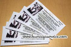 Stampa inviti. Invitations printings.