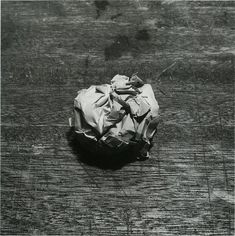 """Kiyoji Otsuji, """"Discarded Crumpled Paper"""", 1975 Crumpled Paper, Old Norse, Cowboy Bebop, Art Challenge, Commercial Photography, Live Action, Real People, Gallery, Blade"""