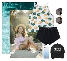 """""""On Vacation"""" by missemmaleigh20 ❤ liked on Polyvore featuring Illesteva"""