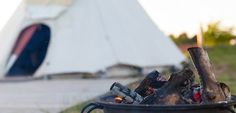 Deepdale Tipis. A great weekend break on the North Norfolk coast, stay in a traditional Tipi with raised wooden floor, woodburner & fold out beds.