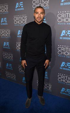 Pin for Later: Die Stars feiern weiter bei den Critics' Choice Movie Awards! Jesse Williams