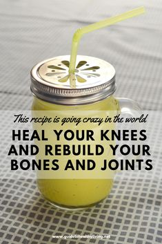 This Recipe is going Crazy in the World! Heal your Knees and Rebuilds Bones and Joints - Healthy Living
