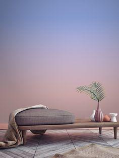 Diese Tapeten mit Farbverlauf wollen wir sofort haben! | Stylight