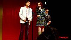 Miss #Romania in Italia 2014 e Miss Changhong 2014. Intervento di Chaim #Ning Senior Vice President Europe. #Changhong è sponsor della manifestazione. http://ti...