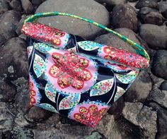 Cosmetic Bag with Pattern ~ DIY Tutorial Ideas!