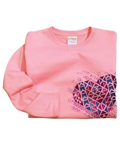 Aztec Love - Rose-Dyed Long-Sleeve Mini T-Shirt