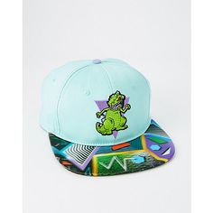 56307a3c1d4 Lenticular Rocko s Modern Life Snapback Hat - Nickelodeon - Spencer s