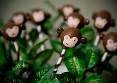 Monkey cake pops!