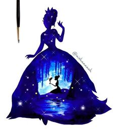 Find images and videos about art, drawing and disney on We Heart It - the app to get lost in what you love. Disney Kunst, Arte Disney, Disney Fan Art, Disney Pixar, Disney And Dreamworks, Tiana Disney, Disney And More, Disney Love, Disney Drawings