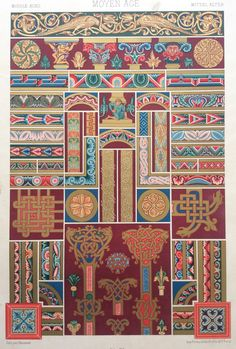 1877 LOrnement Polychrome Decorative Antique by Thepapermuseum