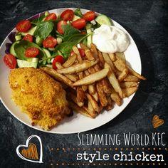 Syn Free KFC Style Chicken