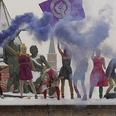 Pussy Riot are finnally free - Connect the Notes Blog    #pussyriot #free #music #qtrax #legal #download #blog #connecttheblog #band #prison #jail #lyrics #collection #colletionqtrax