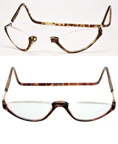 d06c440785 Reading Glasses  Clic Sonoma Half Readers Tortoise Frame-Genuine Clics-2.50  BUY IT NOW ONLY   34.95