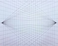 Two point perspective grid