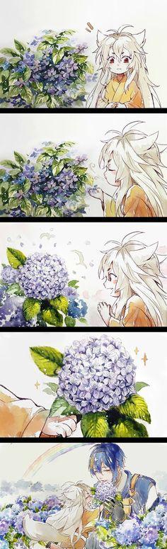 A Flower for my little friend