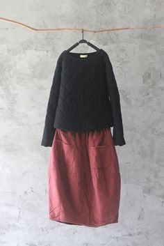 architecture rurale et minimale Beautiful Outfits, Cool Outfits, Casual Outfits, Fashion Outfits, Womens Fashion, Shabby Look, Mode Plus, Apron Dress, Japan Fashion