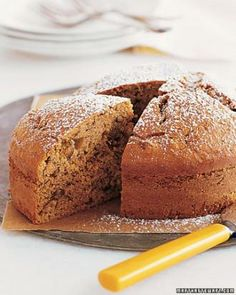 Simple Cake Recipes // Banana-Pecan Cake Recipe