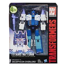 Transformers Titans Return Leader Overlord #transformer