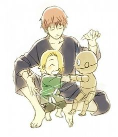 Sasori and Deidara, this is so cute <3