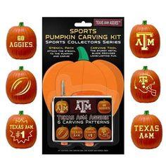 Texas A&M pumpkin carving kit. Whoop!