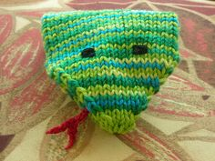 Ravelry: Silly Snake Bath Puppet pattern by Brian McGaunn