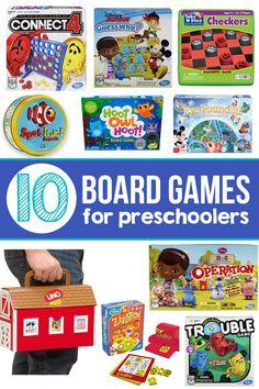 10 of The Best Board Games for Preschoolers