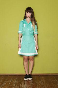 SALE!! Twin Peaks Double R waitress dress, shelly johnson Uniform diner dress  NEEDNEEDNEEDNEEDNEED